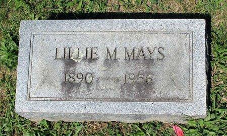 MAYS, LILLIE M. - Alleghany County, Virginia | LILLIE M. MAYS - Virginia Gravestone Photos