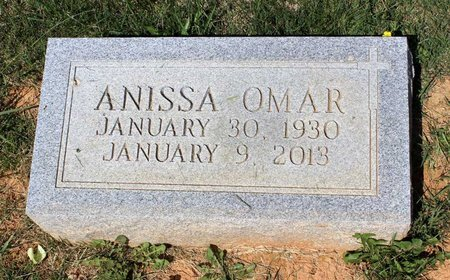 OMAR, ANISSA - Alleghany County, Virginia | ANISSA OMAR - Virginia Gravestone Photos