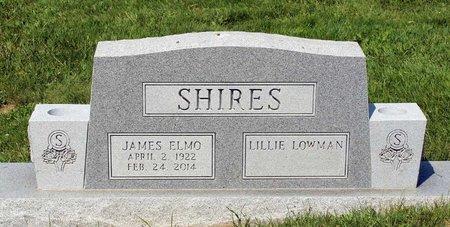 SHIRES, JAMES ELMO - Alleghany County, Virginia | JAMES ELMO SHIRES - Virginia Gravestone Photos