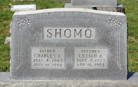 SHOMO, CHARLES A. - Alleghany County, Virginia | CHARLES A. SHOMO - Virginia Gravestone Photos