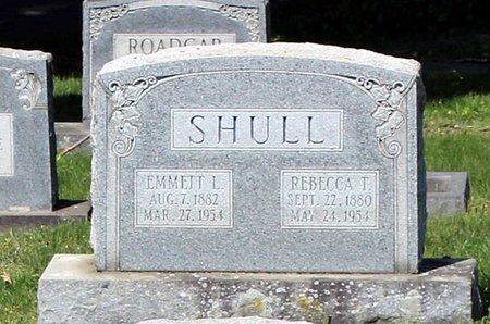 SHULL, EMMET L. - Alleghany County, Virginia | EMMET L. SHULL - Virginia Gravestone Photos