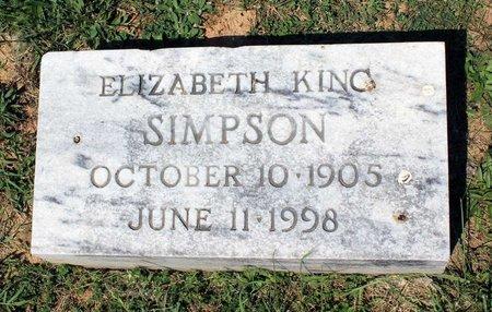 SIMPSON, ELIZABETH - Alleghany County, Virginia | ELIZABETH SIMPSON - Virginia Gravestone Photos