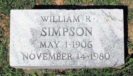 SIMPSON, WILLIAM R. - Alleghany County, Virginia   WILLIAM R. SIMPSON - Virginia Gravestone Photos