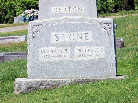 STONE, PRUDENCE B. - Alleghany County, Virginia   PRUDENCE B. STONE - Virginia Gravestone Photos
