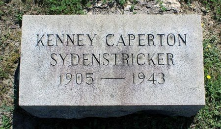 SYDENSTRICKER, KENNEY CAPERTON - Alleghany County, Virginia | KENNEY CAPERTON SYDENSTRICKER - Virginia Gravestone Photos