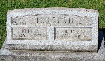 THURSTON, JOHN W. - Alleghany County, Virginia | JOHN W. THURSTON - Virginia Gravestone Photos