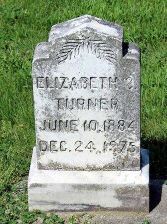 TURNER, ELIZABETH S. - Alleghany County, Virginia | ELIZABETH S. TURNER - Virginia Gravestone Photos