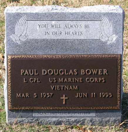 BOWER, PAUL DOUGLAS - Amelia County, Virginia   PAUL DOUGLAS BOWER - Virginia Gravestone Photos