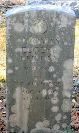 LEISTRA, THOMAS EUGENE - Amelia County, Virginia | THOMAS EUGENE LEISTRA - Virginia Gravestone Photos