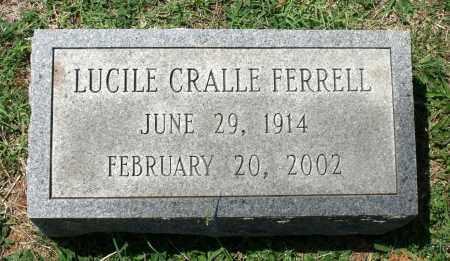 CRALLE FERRELL, LUCILE - Appomattox County, Virginia | LUCILE CRALLE FERRELL - Virginia Gravestone Photos