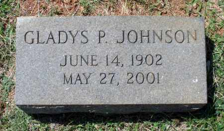 JOHNSON, GLADYS P. - Appomattox County, Virginia | GLADYS P. JOHNSON - Virginia Gravestone Photos