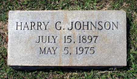 JOHNSON, HARRY G. - Appomattox County, Virginia | HARRY G. JOHNSON - Virginia Gravestone Photos