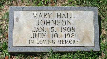HALL JOHNSON, MARY - Appomattox County, Virginia | MARY HALL JOHNSON - Virginia Gravestone Photos