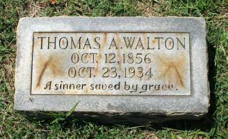 WALTON, THOMAS A. - Appomattox County, Virginia | THOMAS A. WALTON - Virginia Gravestone Photos