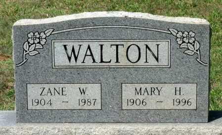 WALTON, ZANE W. - Appomattox County, Virginia | ZANE W. WALTON - Virginia Gravestone Photos