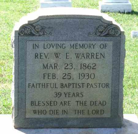 WARREN, WILLIAM EDWARD - Appomattox County, Virginia | WILLIAM EDWARD WARREN - Virginia Gravestone Photos