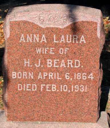 BEARD, ANNA LAURA - Augusta County, Virginia | ANNA LAURA BEARD - Virginia Gravestone Photos