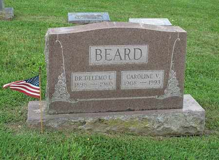 BEARD, CAROLINE - Augusta County, Virginia | CAROLINE BEARD - Virginia Gravestone Photos
