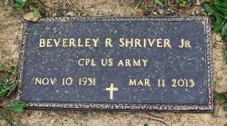 SHRIVER, BEVERLEY RANDOLPH JR. - Bath County, Virginia | BEVERLEY RANDOLPH JR. SHRIVER - Virginia Gravestone Photos