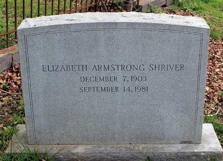 SHRIVER, ELIZABETH - Bath County, Virginia | ELIZABETH SHRIVER - Virginia Gravestone Photos