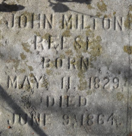 REESE, JOHN - Bedford County, Virginia | JOHN REESE - Virginia Gravestone Photos
