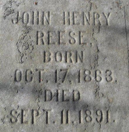 REESE, JOHN - Bedford County, Virginia | JOHN REESE - Virginia Gravestone Photos