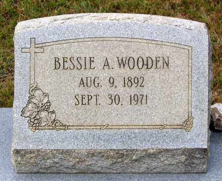 WOODEN, BESSIE A. - Bedford County, Virginia | BESSIE A. WOODEN - Virginia Gravestone Photos