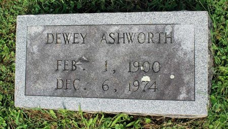 ASHWORTH, DEWEY - Bland County, Virginia | DEWEY ASHWORTH - Virginia Gravestone Photos