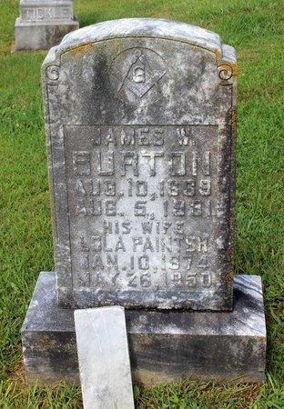 PAINTER BURTON, LOLA - Bland County, Virginia | LOLA PAINTER BURTON - Virginia Gravestone Photos