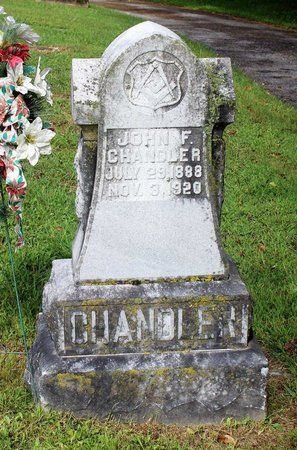 CHANDLER, JOHN F. - Bland County, Virginia   JOHN F. CHANDLER - Virginia Gravestone Photos