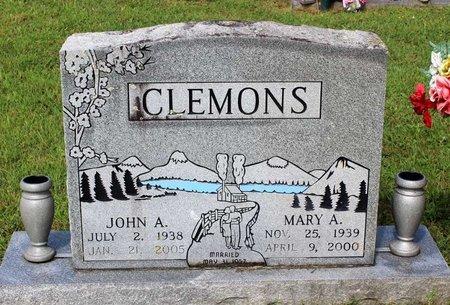 CLEMONS, JOHN A. - Bland County, Virginia | JOHN A. CLEMONS - Virginia Gravestone Photos