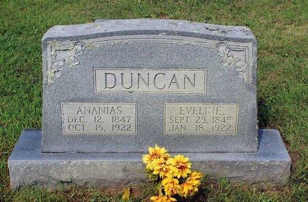 DUNCAN, ANANIAS - Bland County, Virginia | ANANIAS DUNCAN - Virginia Gravestone Photos