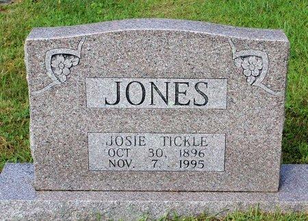 TICKLE JONES, JOSIE - Bland County, Virginia | JOSIE TICKLE JONES - Virginia Gravestone Photos