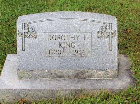 KING, DOROTHY E. - Bland County, Virginia | DOROTHY E. KING - Virginia Gravestone Photos