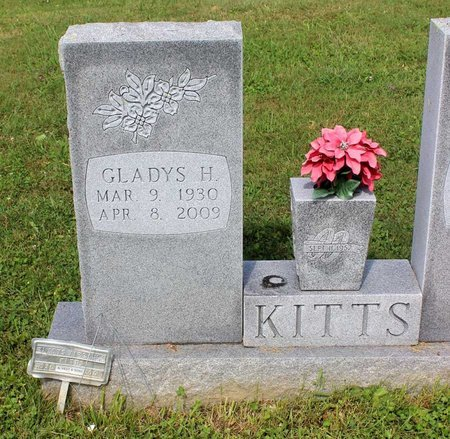 KITTS, GLADYS H. - Bland County, Virginia   GLADYS H. KITTS - Virginia Gravestone Photos