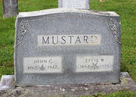 MUSTARD, JOHN C. - Bland County, Virginia | JOHN C. MUSTARD - Virginia Gravestone Photos