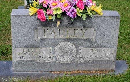PAULEY, ELLA H. - Bland County, Virginia | ELLA H. PAULEY - Virginia Gravestone Photos