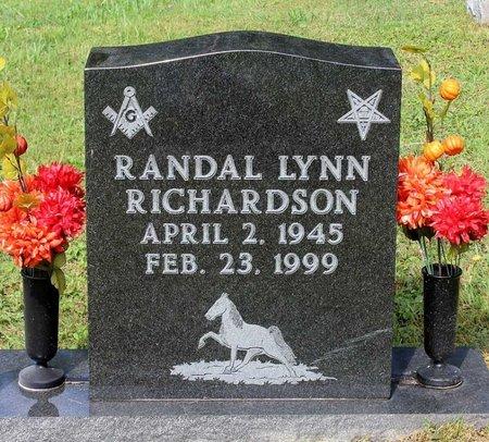 RICHARDSON, RANDAL LYNN - Bland County, Virginia | RANDAL LYNN RICHARDSON - Virginia Gravestone Photos
