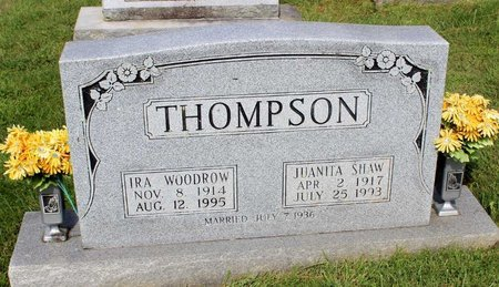 THOMPSON, IRA WOODROW - Bland County, Virginia | IRA WOODROW THOMPSON - Virginia Gravestone Photos