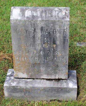 WAGONER TICKLE, MARY A. - Bland County, Virginia | MARY A. WAGONER TICKLE - Virginia Gravestone Photos