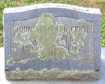 CRUTE, JOHN SHEPPARD - Buckingham County, Virginia | JOHN SHEPPARD CRUTE - Virginia Gravestone Photos