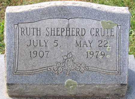 CRUTE, RUTH - Buckingham County, Virginia | RUTH CRUTE - Virginia Gravestone Photos