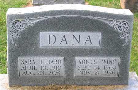 DANA, ROBERT WING - Buckingham County, Virginia | ROBERT WING DANA - Virginia Gravestone Photos