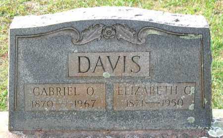 DAVIS, GABRIEL O. - Buckingham County, Virginia | GABRIEL O. DAVIS - Virginia Gravestone Photos