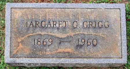 GRIGG, MARGARET G. - Buckingham County, Virginia   MARGARET G. GRIGG - Virginia Gravestone Photos