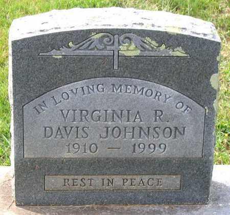 DAVIS JOHNSON, VIRGINIA R. - Buckingham County, Virginia | VIRGINIA R. DAVIS JOHNSON - Virginia Gravestone Photos