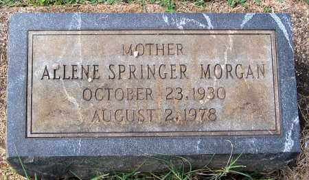 MORGAN, ALLENE - Buckingham County, Virginia | ALLENE MORGAN - Virginia Gravestone Photos