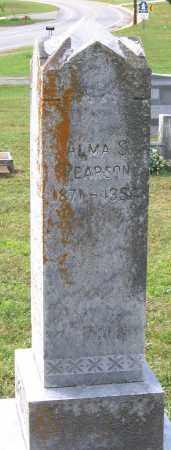 PEARSON, ALMA S. - Buckingham County, Virginia | ALMA S. PEARSON - Virginia Gravestone Photos