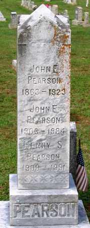 PEARSON, JOHN E. - Buckingham County, Virginia | JOHN E. PEARSON - Virginia Gravestone Photos