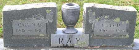 RAY, CALVIN M. - Buckingham County, Virginia | CALVIN M. RAY - Virginia Gravestone Photos